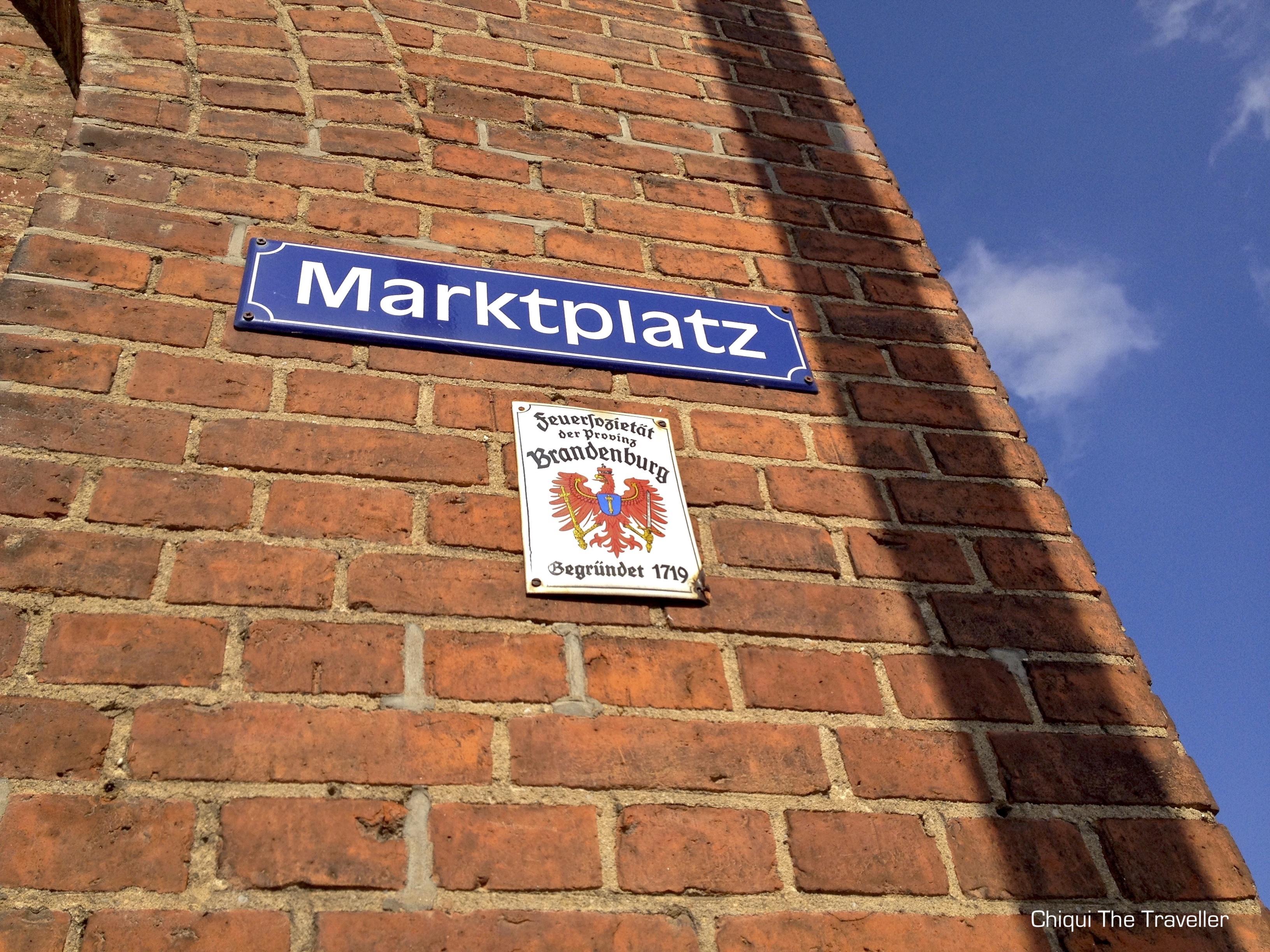 Frankfurt Oder Marktplatz Brandenburg