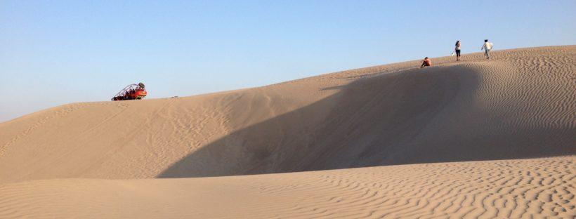 Desierto Paracas sandboard tubular duna
