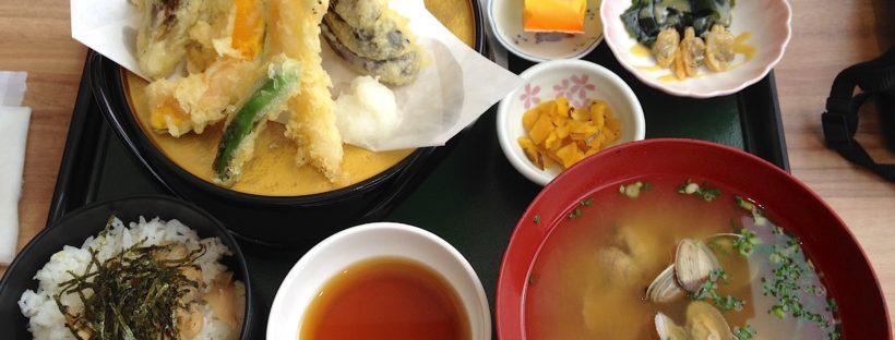 Tempura comida japonesa Umi Hotaru
