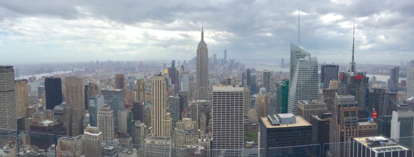 Top of the Rock Nueva York panoramica